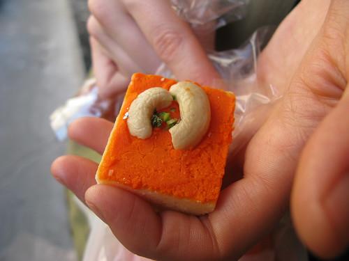 cashew sweet