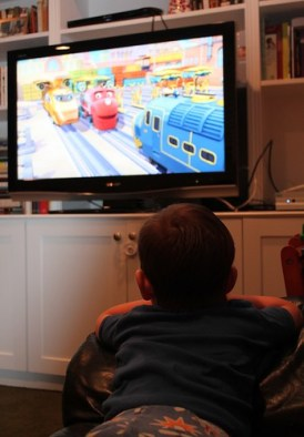 Watching Chuggington
