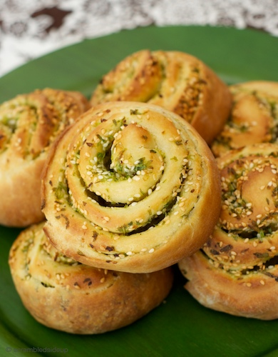 Scallion Bread 1