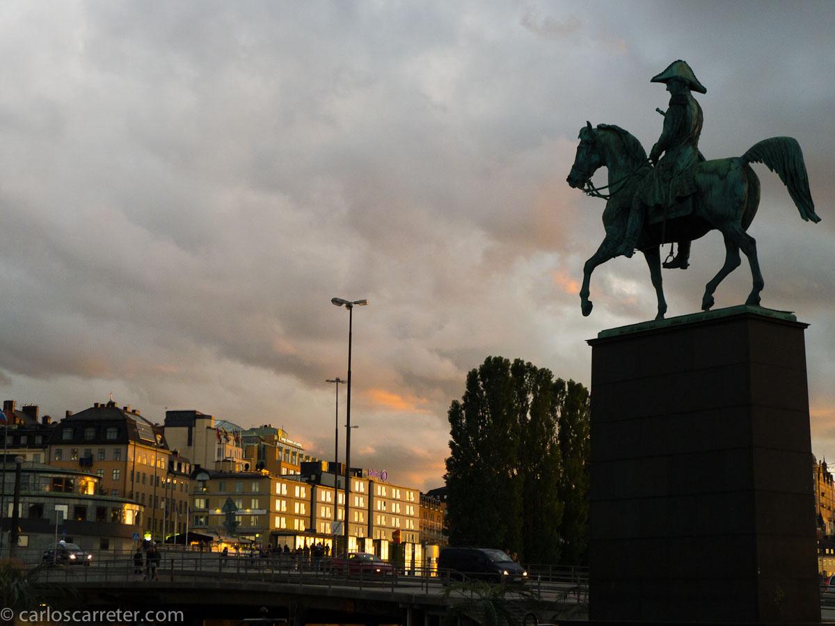 Caballero ante Södermalm