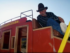 Gary, stagecoach driver
