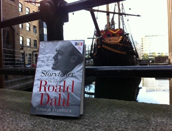 Roald Dahl's Biography, part of the Guardian Book Swap