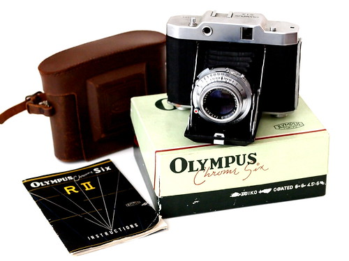 Olympus Chrome Six RIIB. Product of 1955.  c5c2157e221e
