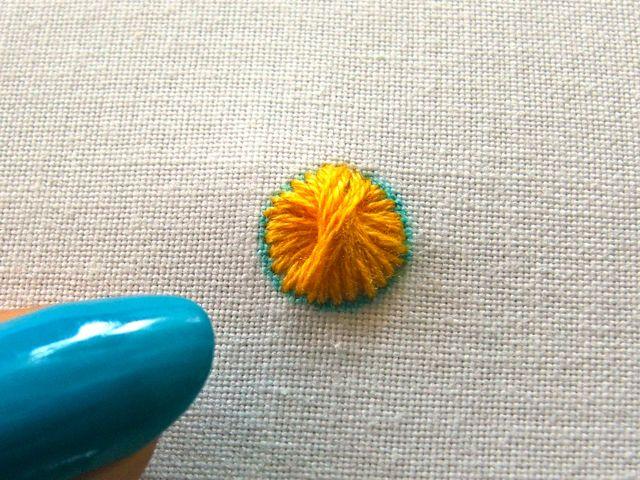 I call it Lentil Stitch...