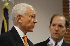Orrin Hatch (R-Utah) and Dave Camp (R-Michigan)