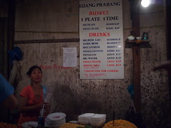 10,000 kip buffet, Night Market, Luang Prabang