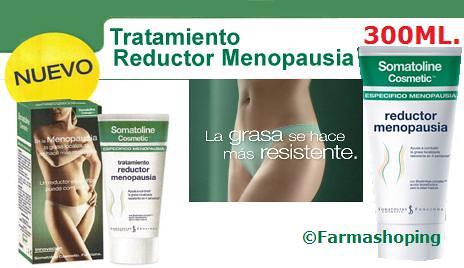 Tratamiento reductor somatoline menopausia