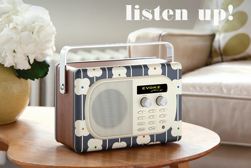 Evoke Radio by Orla Kiely