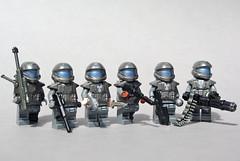 ODST Squad: 105th Shock Troops Division