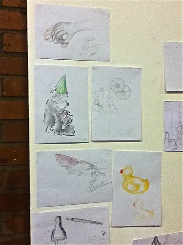 #BCNE4 50 Drawings by BarCampers