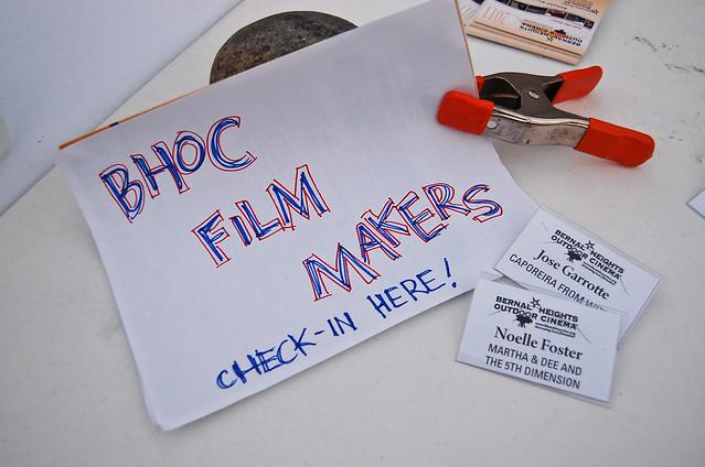 Bernal Heights Outdoor Cinema