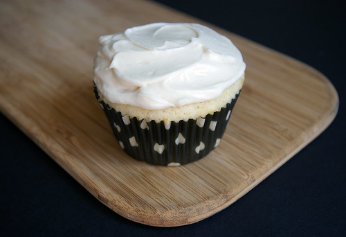 Vanilla Cupcake with Bourbon Buttercream