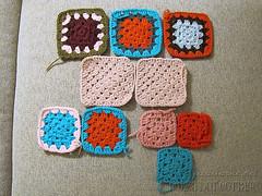 Project :: Granny Square: Mini Blanket