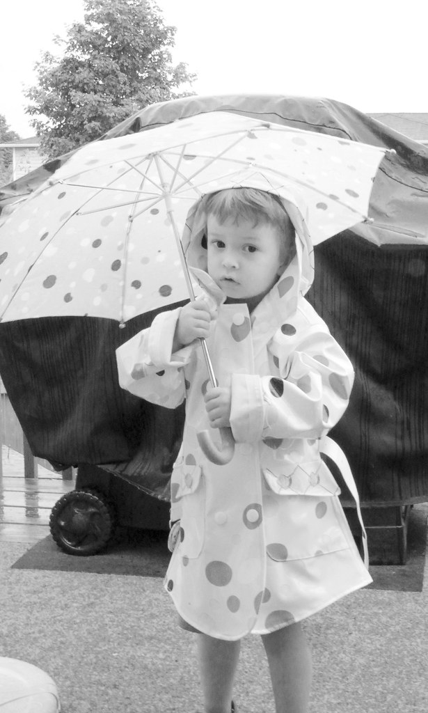 The Boy in her Raincoat