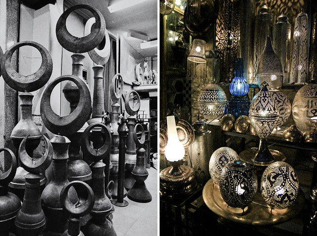 mosque toppers and  lamps