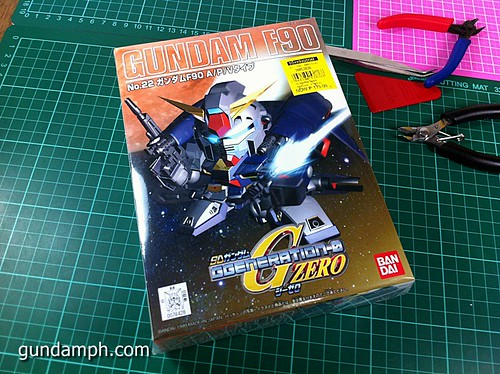 SD Gundam F90 Full Equipment (1)