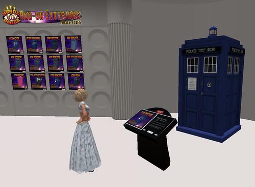Inspecting TARDIS exteriors
