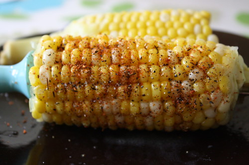corn on the cob, penzey's spices