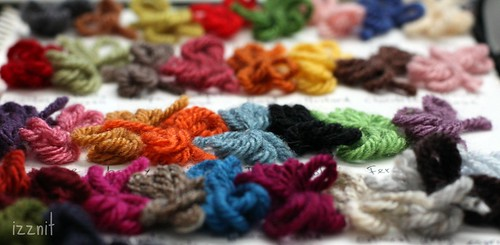Yarn Swatches