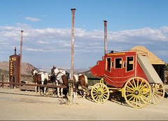 Gary's stagecoach, Virginia City
