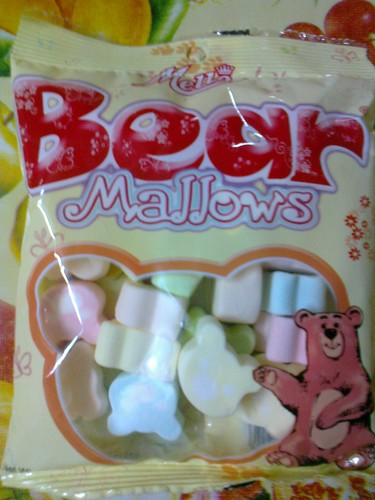 Bear Mallows by awibear