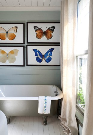 reggie marshall cottage butterfly bath