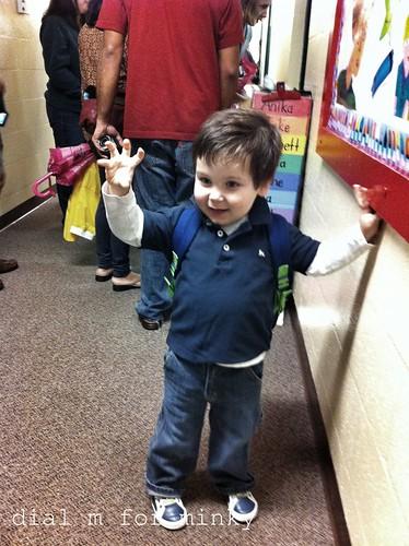 Max at school!