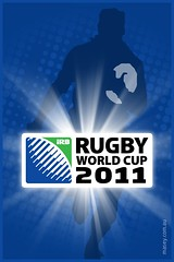 IRC Rugby World Cup 2011 iPhone Wallpaper