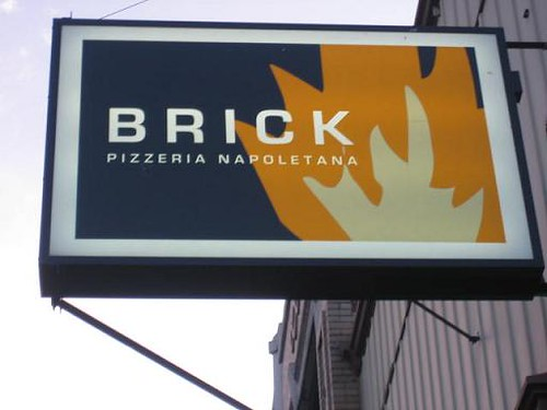 Brick Sign