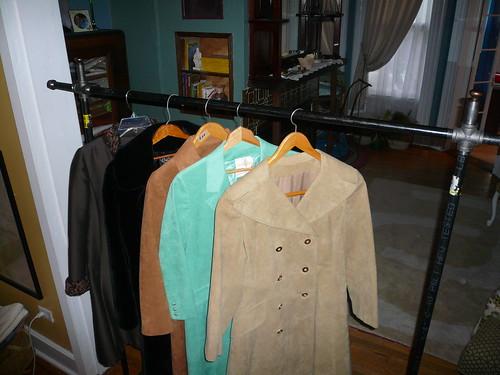 Garment Rack -- holds garments!