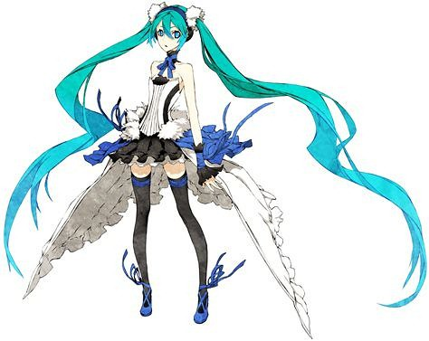 Original art of Hatsune Miku 2020