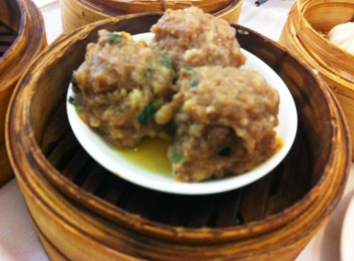 Beef Meat Balls at Golden Century