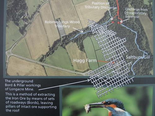 Longacres / Saltburn Beck Map