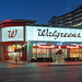 Walgreens MGM Facade - Night View NW Corner Dawn