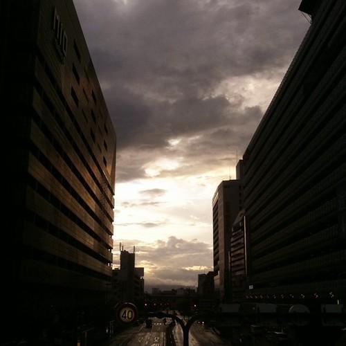 台風の気配。 #iphonography #instagram