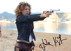Alex Kingston Doctor Who River Song