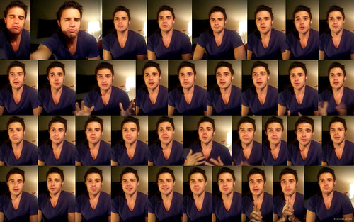 Wallpaper from Kris Allen's album update video