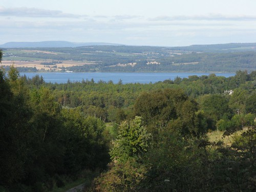 Beauly Firth and the Black Isle beyond