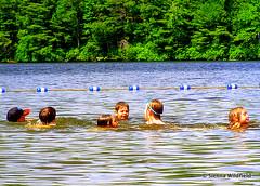 Swimming at DAR in Goshen