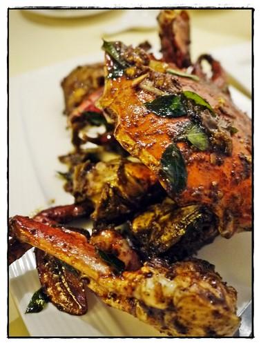 Pepper crabs