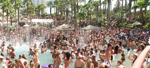 Rehab Pool Party Hard Rock Hotel Vegas