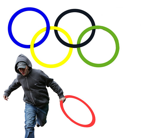 New Logo for the London Olympic Looting Team...
