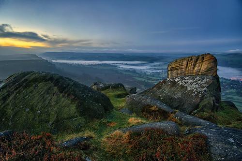Curbar Edge_141110_0014 Sunrise & Mist