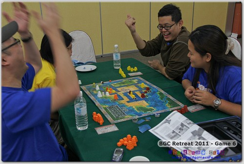 BGC Retreat 2011 - Game Six
