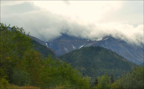 Klondike Highway - Clouds