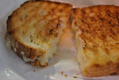 Grilled Cheese....made with Flagship cheese.