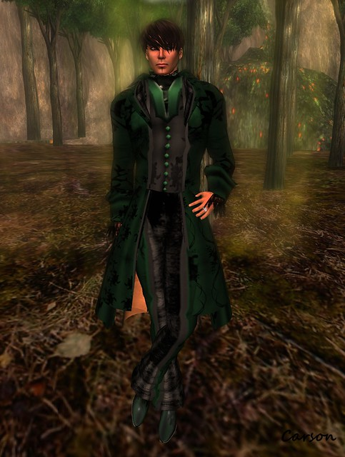 Avatar Bizarre - Forest Bean-Sidhe Suit
