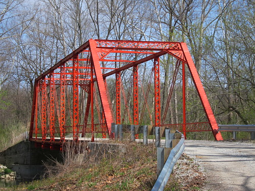The bridge on Holliday Road