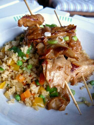 Rice & Peanut Satay