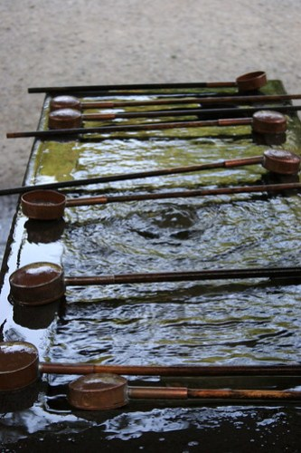 Ladles for Temizu, ritual washing